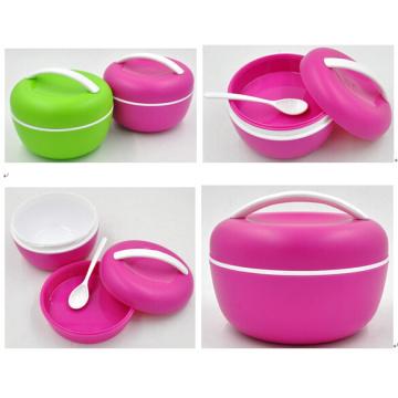 Fashionable Korean lunch box, take away lunch box, children round lunch box