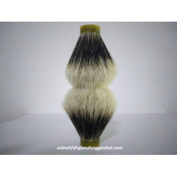 Bulb Shape Finest Badger Hair Knots