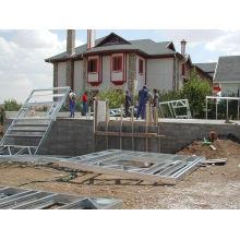 Bâtiment préfabriqué de structure métallique de conception adaptée aux besoins du client
