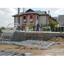 Construção pré-fabricada de estrutura de aço de design personalizado