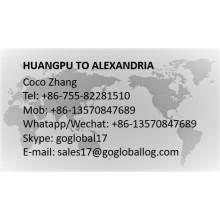 Guangzhou Huangpu to Egypt Alexandria