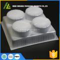 plateau en plastique pour emballage de pain congelé à la vapeur