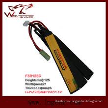 Firefox 11.1V 1250mAh Li-Po batería Li-Polymer