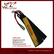 Batterie Li-polymère de Firefox 11.1V 1250mAh Li-Po
