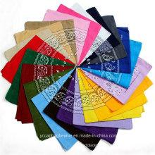 Hot Sale Multi Colors Paisley Printed Wholesale Cotton Bandanas