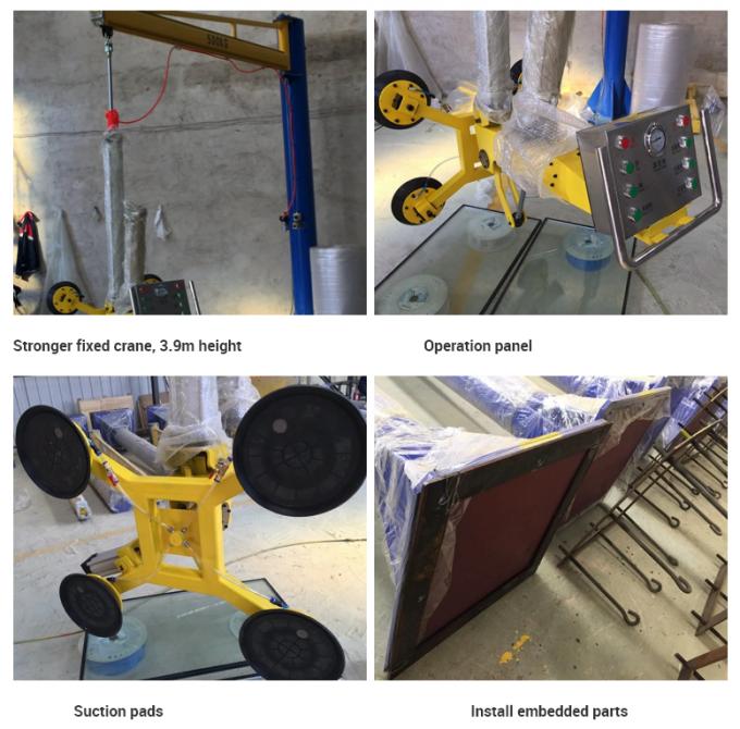 Insulating Glass Unit Vacuum Lifting Machine