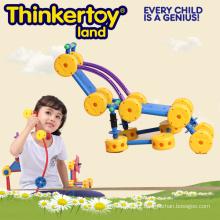Brinquedos plásticos intelectuais e educacionais para crianças