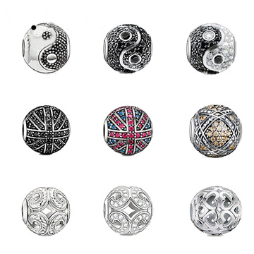 Vente en gros de bijoux européens en perles en argent sterling 925