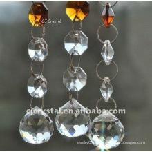 Lustre en cristal de cristal 2015 moderne, lustres à cristaux liquides pas chers