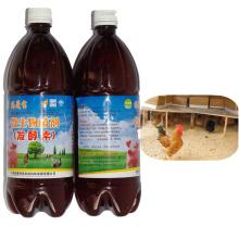 Inoculante orgánico microbiano de algas marinas para lecho de fermentación animal
