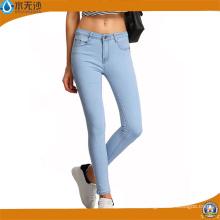 Las mujeres de moda Slim Legging Jeans Skinny Jeans Cotton Spandex Denim Jeans