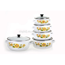 Ebay kitchenware Supplier top selling enamel saladmaster cookware