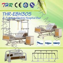 Cama de paciente eléctrica de tres funciones