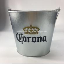 Promotional Galvanized Metal Ice Bucket