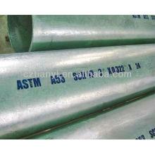 """ASTM A53B galvanizado a quente Tubo de tubo sem costura de aço carbono de 8 """"SCH40"""