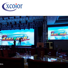 China Professional Supplier for Rgb Led Video Curtain Display RGB Hotel Wedding P4 Indoor Advertising Led Screen supply to Spain Wholesale