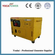 Centrale électrique à générateur électrique insonorisé refroidi par air 10kw
