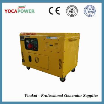 10kw Air Cooled Soundproof Electric Generator Power Plant