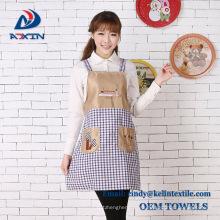 Custom Christmas Apron Cheap Cotton Kitchen Apron With Logo Printed Custom Christmas Apron Cheap Cotton Kitchen Apron With Logo Printed