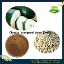 Extracto de semilla de Waxgourd chino de la forma del polvo soluble en agua, extracto de la semilla de la calabaza de la cera