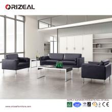 Canapé Orizeal en cuir avec cadre en métal pour canapé bureau canapé (OZ-OSF010)