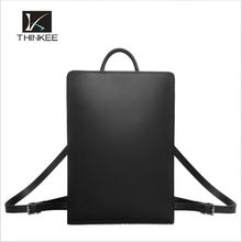 New adjustable high quality man straps genuine leather backpacks
