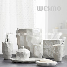 Organic Porcelain Bathroom Accessories (WBC0845A)