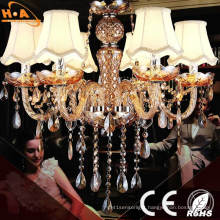 New European Crystal Office LED Pendant Lamp