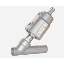 Угловой седельный клапан - Сварное соединение