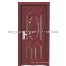 BS puerta ignífuga de madera para el hotel