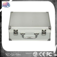 Tattoo Kit Case Portable Storage Lock Traveling Convention Carry Bag Aluminum,Aluminum Tattoo Carrying - Travel Case Box
