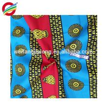 Bequemes afrikanisches Wachs der modernen Art druckt Gewebe für Verkauf