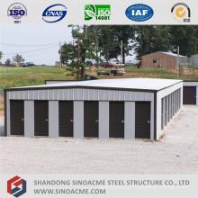 Bâtiment de stockage à faible coût en acier