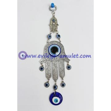 Evil Eye Hamsa CHAI Judaica Wall Hanging Israel Jewish Home Blessing
