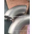 A extremidade do ANSI B16.9 soldou o cotovelo de aço inoxidável de 90 graus para a indústria