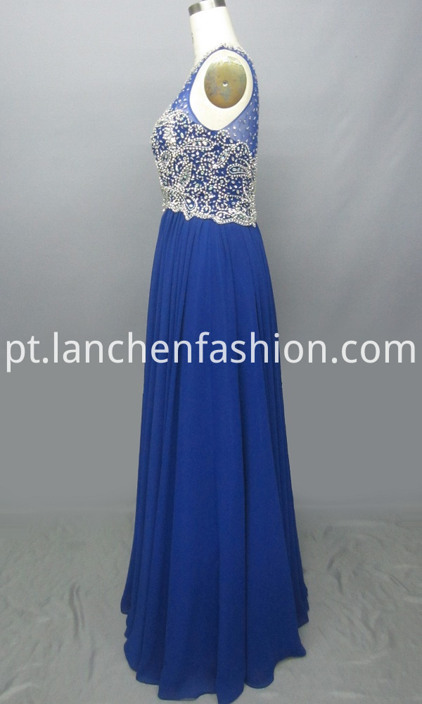 A line Bridesmaid Prom Dress