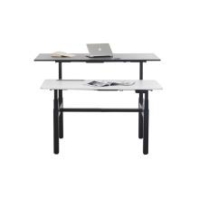 Офисный стол с 4 ножками и электроприводом