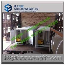Réservoir d'huile en acier au carbone 50 M3 Refuel Tanker Station Container