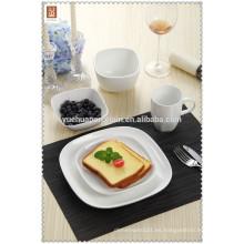 2015 Nuevos productos vajilla china cuchillería conjunto con placa y copa de bebida