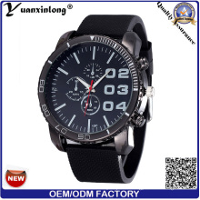 Yxl-175 Промотирования горячие продажи мужские часы большой Циферблат хронограф спортивные часы силиконовые роскошные часы мужчин