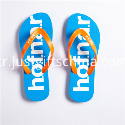 Promotional Outdoor Multicolor Flip Flops 3