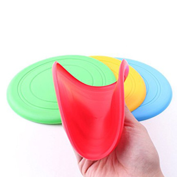 China Exporter for Dog Whistle Outside Play Silicone Frisbees Dog Tossing Toys supply to Russian Federation Wholesale