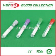 Tubo de sangre desechable sin vacío HENSO