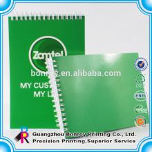 Encuadernación espiral A5 cuaderno personalizado de impresión