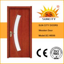 Portas de quarto de madeira de alta qualidade