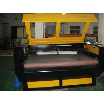 Goldensign máquina de corte automática de alimentação de laser