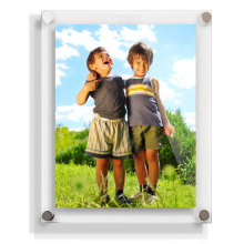 Stylish Acrylic Photofunia/Picture Frame, Acrylic Magnetic Photo Frame