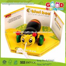 Новая модель Bee Model Mini Car, желтая игрушка для автомобилей цвета для детей
