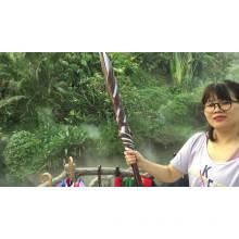 190T Nylon fabric wood handle mould industrial umbrella, manual hand open golf umbrellas