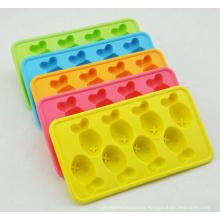 Nuevos cubos de hielo reutilizables de la categoría alimenticia promocional del nuevo color cubos de hielo no tóxicos del silicón